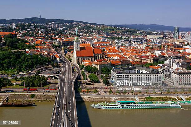 Bratislava cityscape, Slovakia