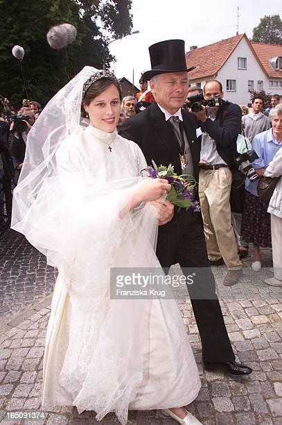 Braut Thyra Und Brautvater Bei H Von Hannover T Von Westernhagen Hochzeit
