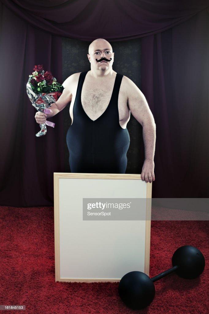 Brave Strongman : Stock Photo