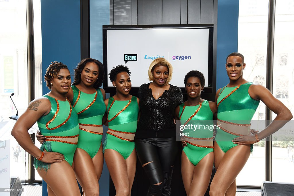 UPFRONT 'Bravo Esquire Oxygen 2015 Upfront Press Event in New York NY on Monday March 30 2015' Pictured The Prancing Elites Stars of Oxygen's 'The...