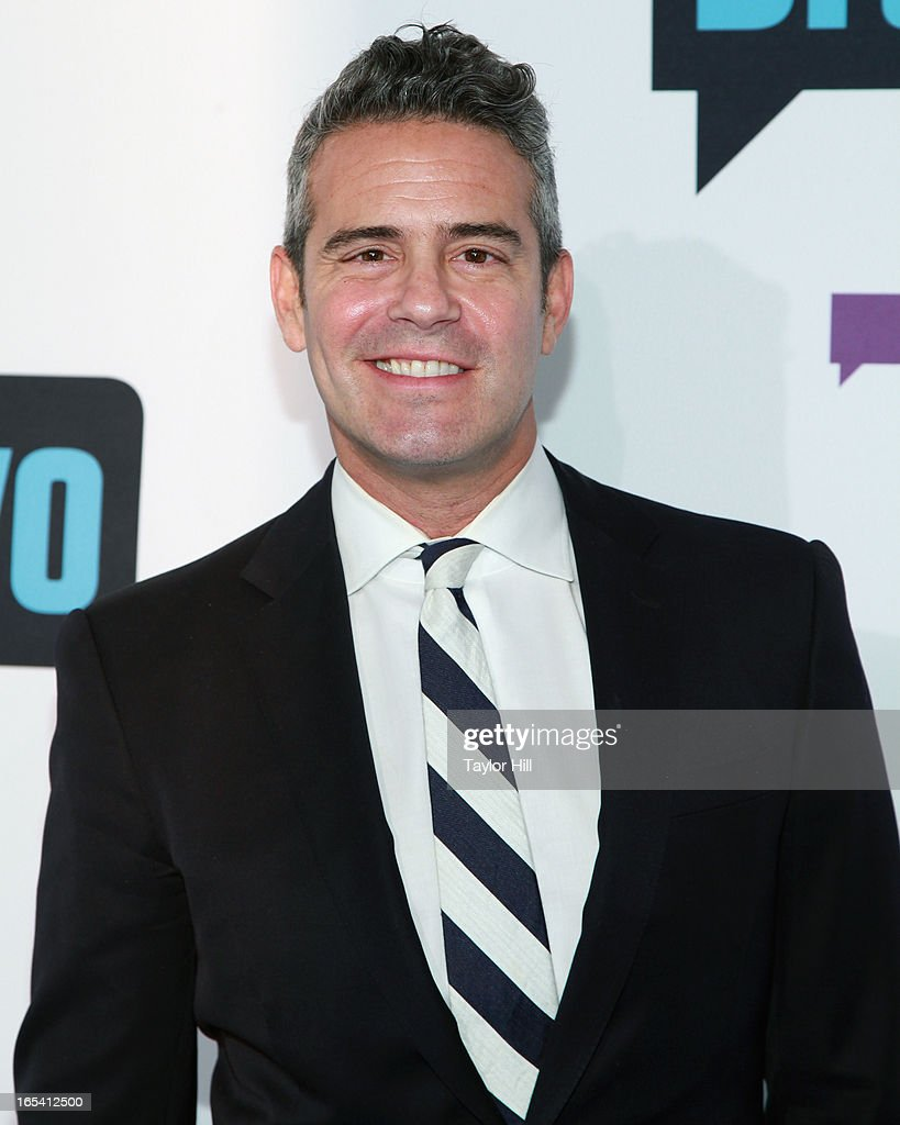Bravo Executive Vice-President of Development and Talent Andy Cohen of 'Watch What Happens Live' attends the 2013 Bravo Upfront at Pillars 37 Studios on April 3, 2013 in New York City.