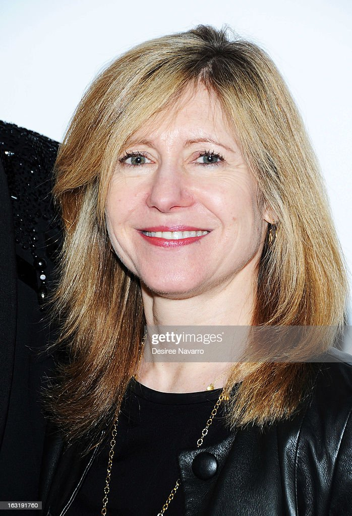 Bravo President Frances Berwick attends the 'Dukes Of Melrose' Premiere at 583 Park Avenue on March 5, 2013 in New York City.