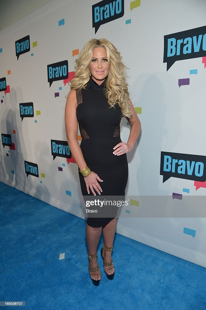 EVENTS -- 'Bravo Upfront 2013, Wednesday April 3rd at Stage 37 in New York City' -- Pictured: <a gi-track='captionPersonalityLinkClicked' href=/galleries/search?phrase=Kim+Zolciak&family=editorial&specificpeople=5446357 ng-click='$event.stopPropagation()'>Kim Zolciak</a> --