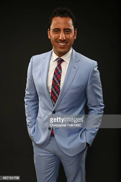 Bravo's 'Million Dollar Listing Los Angeles' star Josh Altman poses for a portrait during the NBCUniversal Press Tour at the Beverly Hilton on July...