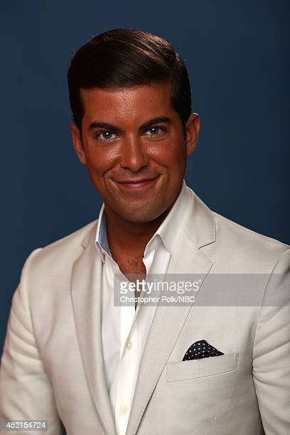 Bravo's 'Million Dollar Listing New York' star Luis D Ortiz poses for a portrait during the NBCUniversal Press Tour at the Beverly Hilton on July 14...