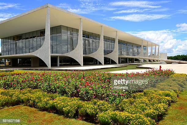 Brasil, Brasília, o Planalto Palácio Presidencial dela dependentes