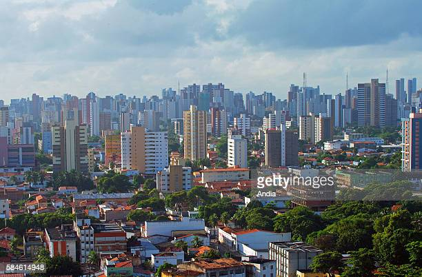 Fortaleza the state capital of Cear‡ in the Northeast Region