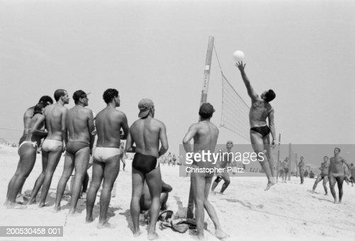 from Kayson nude men playing vollyball