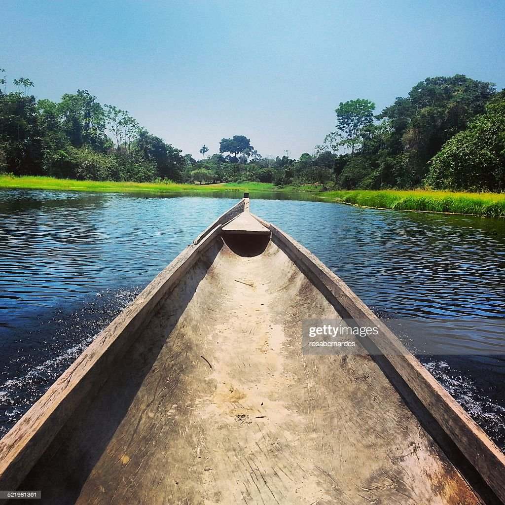 Brazil, North Region, Amazon Canoe