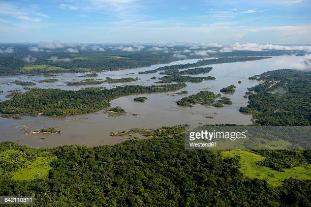 Brazil, Para, Itaituba, Amazon rainforest, Rio Tabajos