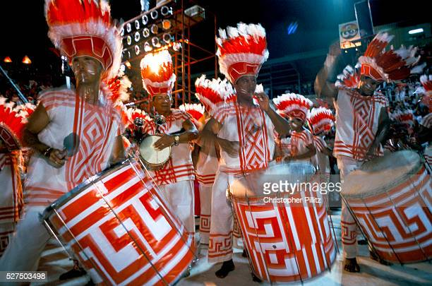 Brazil Parintins The Boi Bumba carnival and a group of drummers known as the 'Batucada' give an infectious rhythm to the celebrations during the...