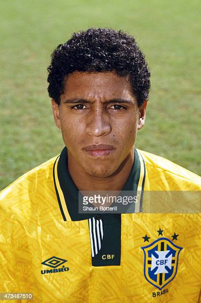 Brazil player Roberto Carlos pictured in June 1993