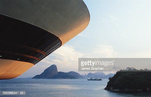 Brazil, Rio de Janeiro, Niteroi, Niemeyer Museum of Contemporary Arts