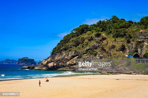 Brazil - Sao Conrado beach, Rio de Janeiro on weekday