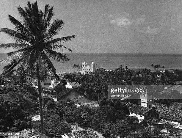 View of Olinda in the state of Pernambuco 1934 Photographer Alfred Eisenstaedt Vintage property of ullstein bild