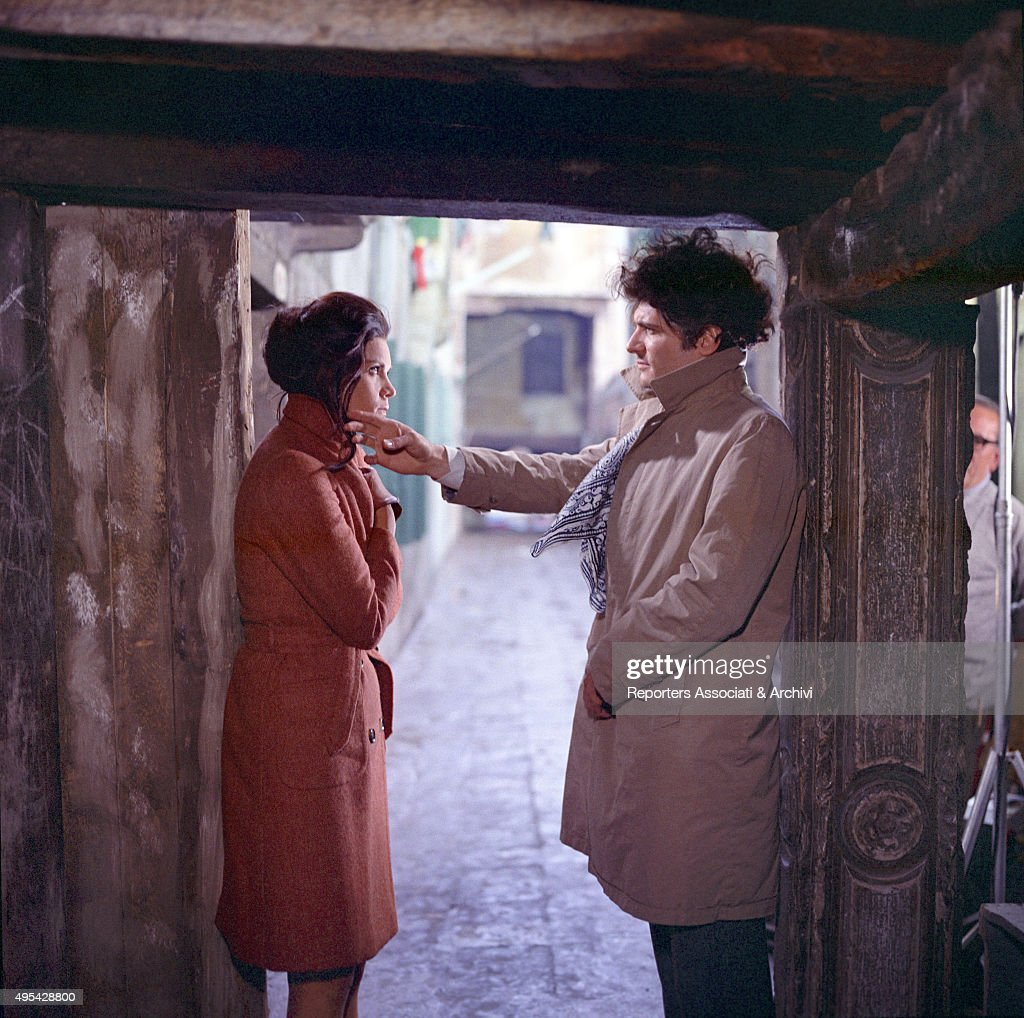 tony musante caressing florinda bolkan in the anonymous venetian ian actress florinda bolkan florinda soares bulcao and american actor tony musante anthony