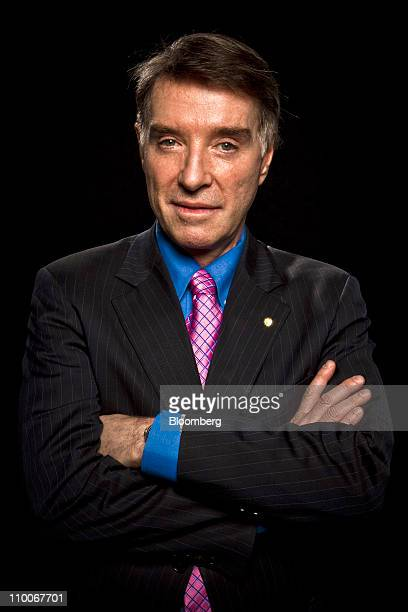 Brazilian Billionaire Eike Batista chairman of MMX Mineracao e Metalicos SA stands for a photo prior to an interview in New York US on Monday March...