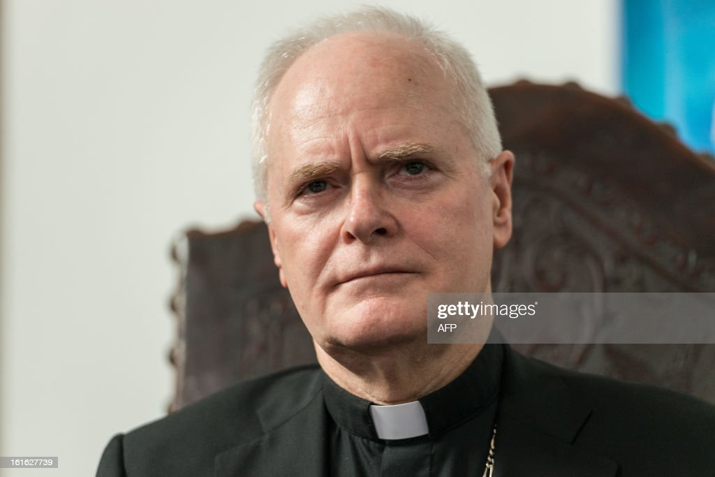 Brazilian Cardinal Odilo Pedro Scherer, Archbishop of Se Cathedral and considered in the running to be the future pope, speaks during a press conference at Se Cathedral in Sao Paulo, Brazil, on Februrary 13, 2013. Benedict XVI, the German-born leader of the world's 1.1 billion Catholics, made the shock announcement that he would resign on February 28 due to old age. Scherer, ordained cardinal by Benedict XVI in 2007 and who heads Brazil's largest archdiocese with five million Catholics, said that nationality and age should not be key factors in choosing who will succeed Benedict XVI. AFP PHOTO / Yasuyoshi CHIBA