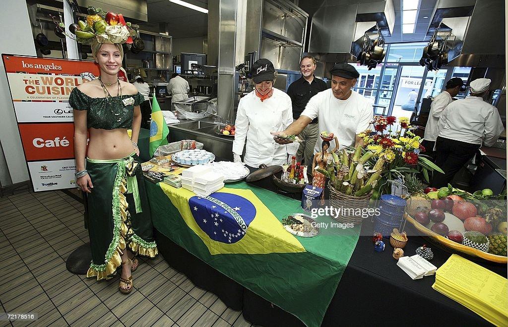 Brazilian Cuisine Served At U0027The World Cuisine Eventu0027 Hosted By LA Magazine  At The Idea