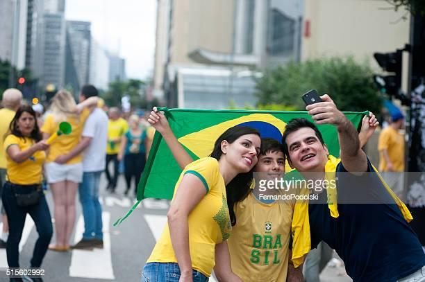 I dimostranti brasiliano