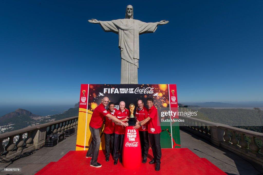 Coca Cola World Cup Trophy Tour Launch