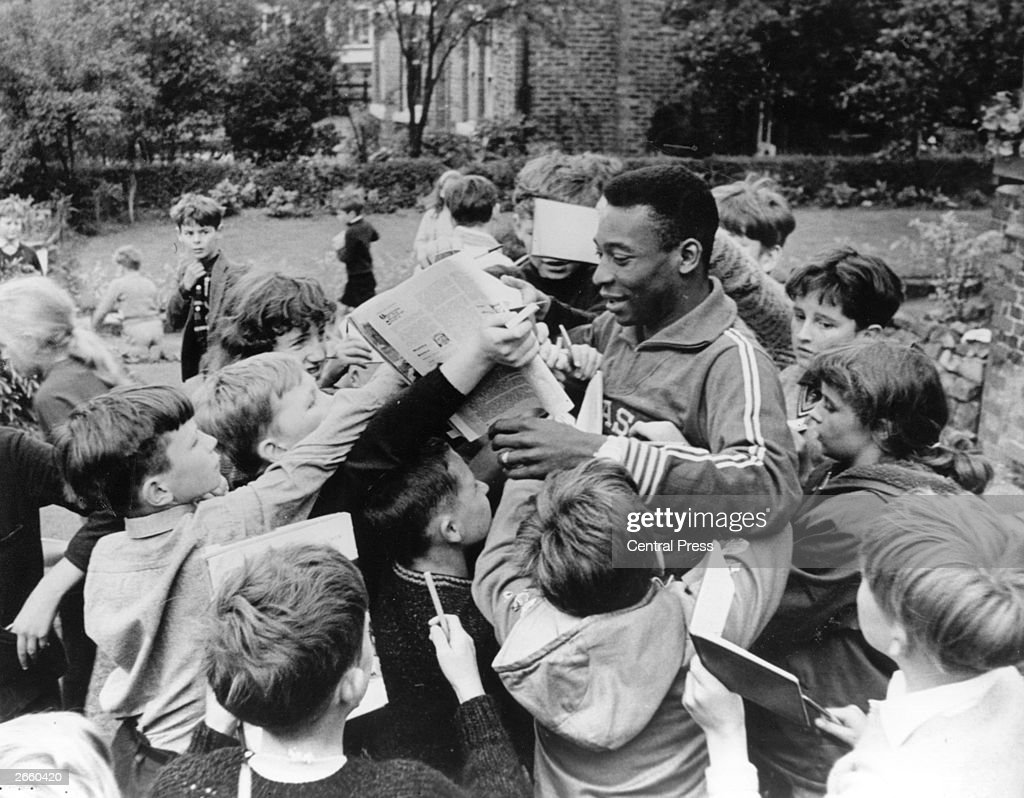 Pele And Fans
