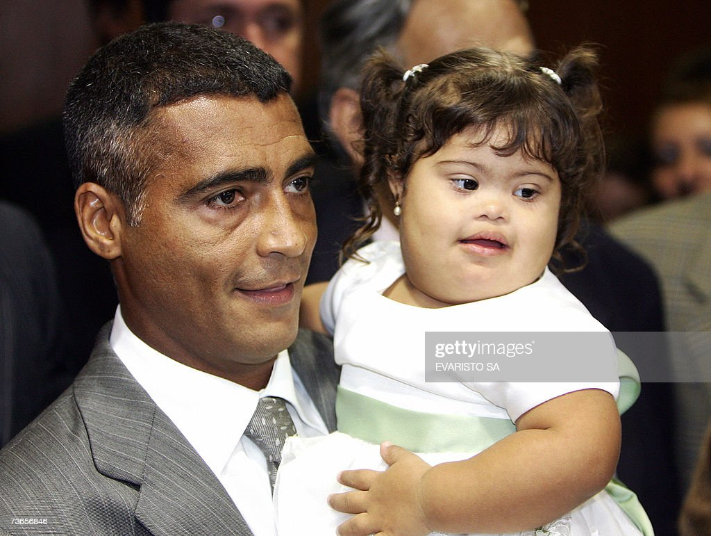Brazilian footballer Romario de Souza Fa