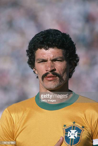 Brazilian footballer Socrates May 1981
