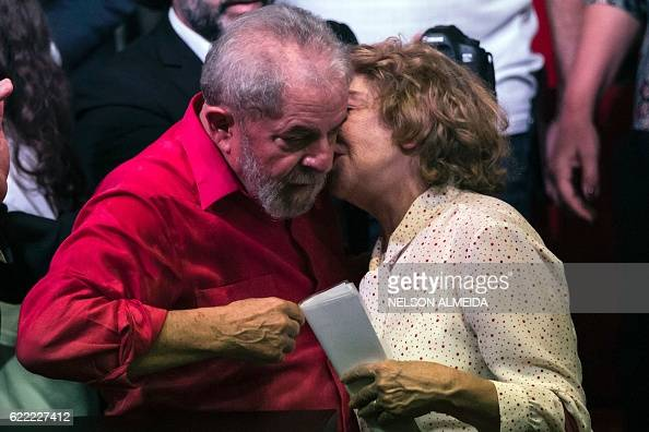brazilian former president luiz inacio lula da silva l chats with his wife marisa leticia. Black Bedroom Furniture Sets. Home Design Ideas