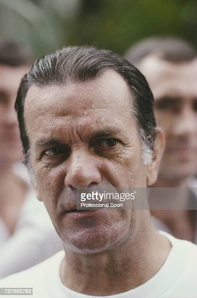 Brazilian former professional footballer and manager of the Brazil national football team Tele Santana pictured during the 1982 FIFA World Cup...