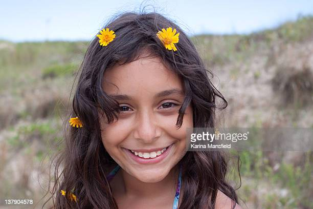 Brazilian girl smiling