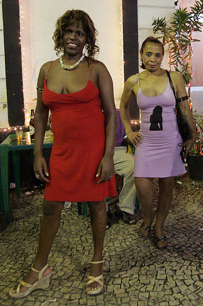 Brazilian prostitutes Jane Eloy (L) and Pictures | Getty ...