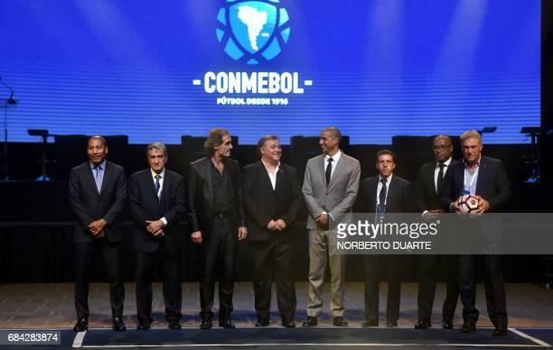 Brazilian retired footballer Mauro Silva Brazilian former football manager Carlos Alberto Parreira Argentinian former footballers Oscar Ruggeri and...
