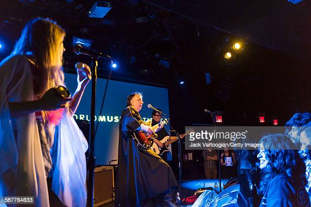 Brazilian Rock group Os Mutantes perform during a World Music Institute concert to inaugurate their first Lusaphone Festival and their 30th...