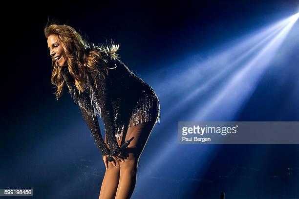 Brazilian singer Ivete Sangalo performs at Heineken Music Hall Amsterdam Netherlands 26th May 2016
