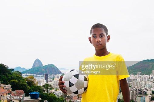 Brazilian Soccer Kid