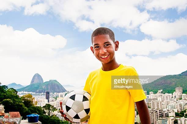 Ragazzi di calcio brasiliano