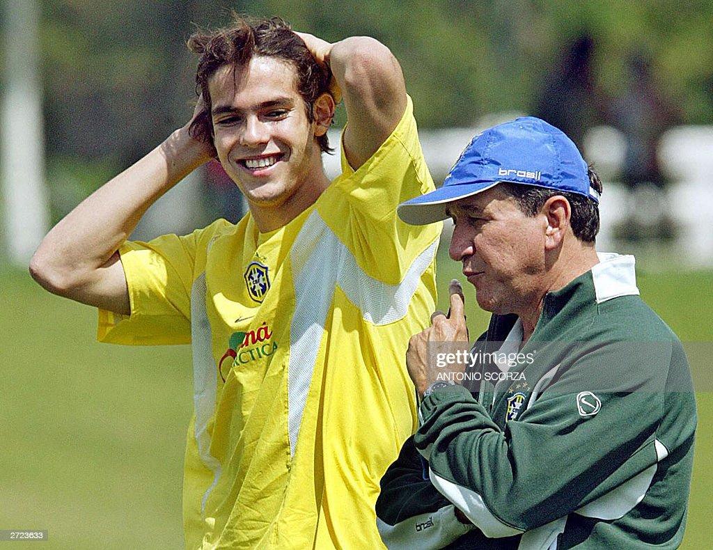 Brazilian soccer player Kaka Ricardo Le
