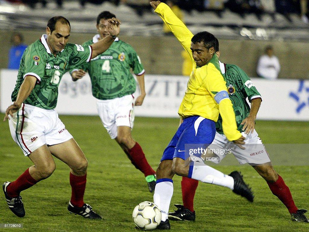 Brazilian striker Romario de Souza Faria