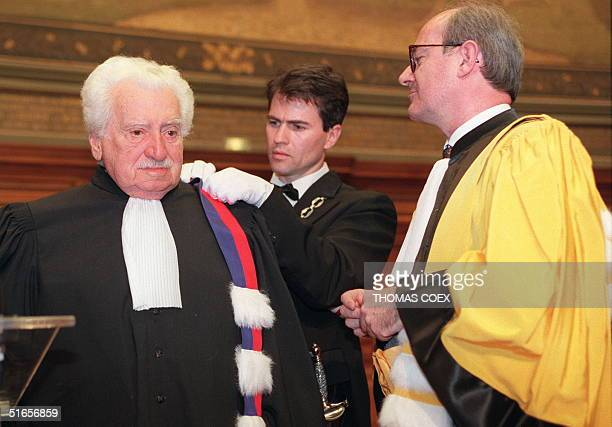 Brazilian writer Jorge Amado his awarded the Doctor Honoris Causa title of the ParisSorbonne University 23 March by the Sorbonne Education...