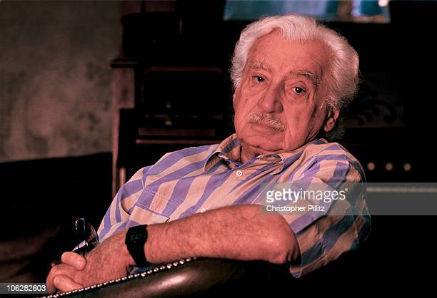 Brazilian writer Jorge Amado in London 1994