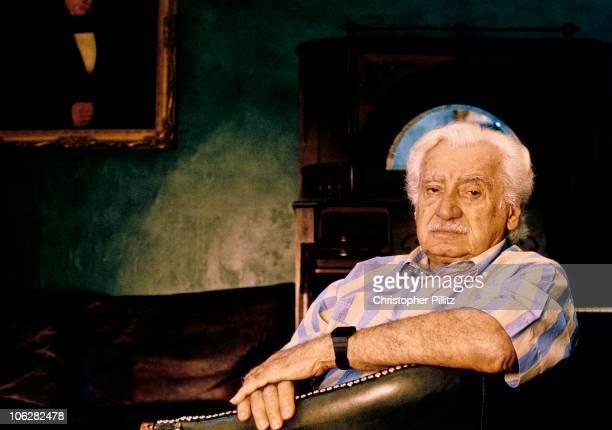 Brazilian writer Jorge Amado in London May 1994