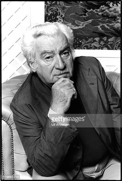 PARIS FRANCE OCTOBER 12 Brazilian writer Jorge Amado poses during portrait session held on October 12 1985 in Paris France