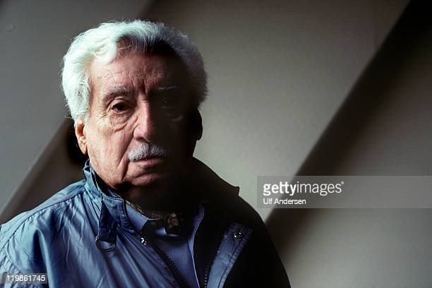 PARIS FRANCE FEBRUARY 28 Brazilian writer Jorge Amado poses during portrait session held on February 28 1991 in Paris France