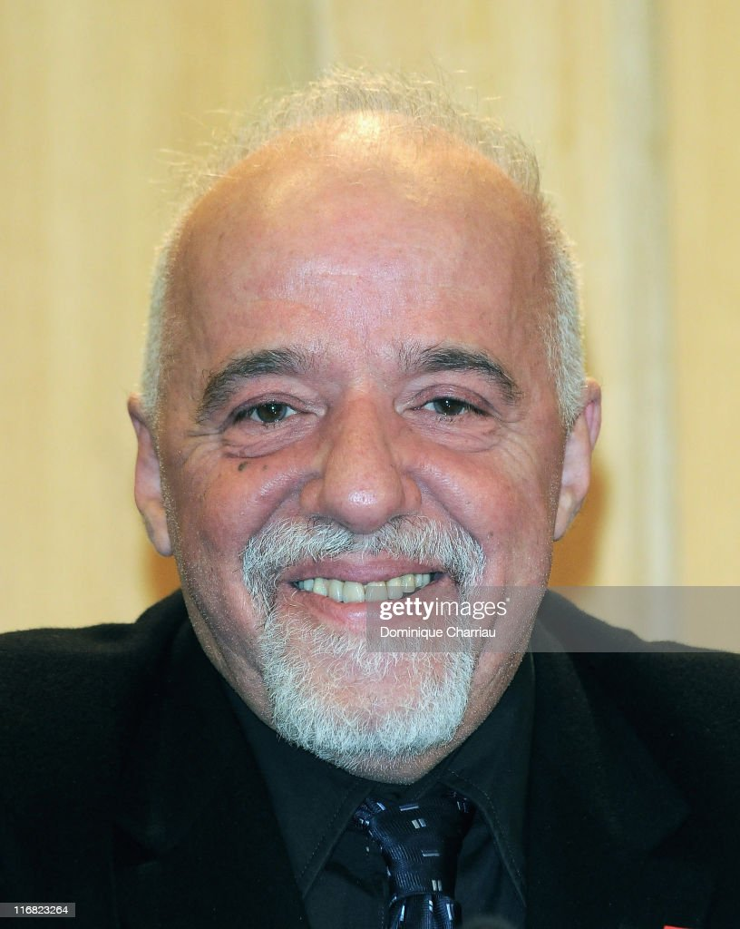 Brazilian writer Paulo Coelho attends the UNESCO/Bilbao Prize for the Promotion of a Culture of Human Rights on December 10, 2008 in Paris, France.
