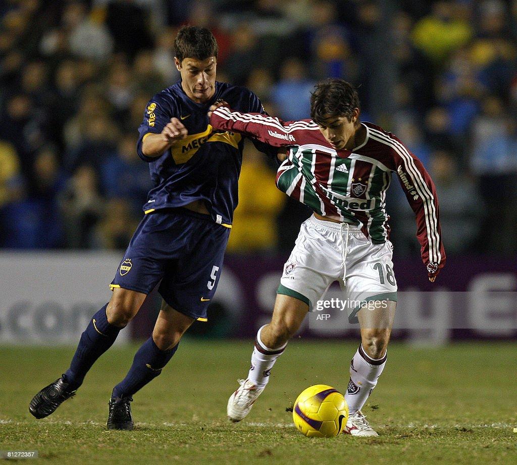 Brazil s Fluminense midfielder Dario Con