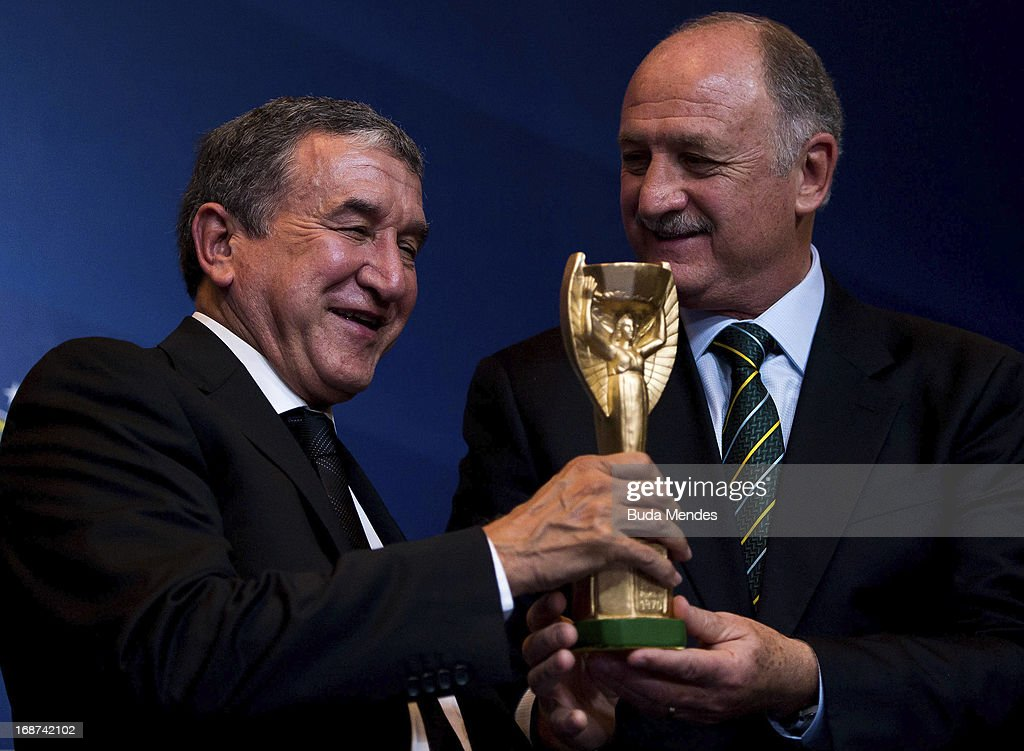 Luiz Felipe Scolari Announces Brazilian Squad for FIFA Confederations Cup