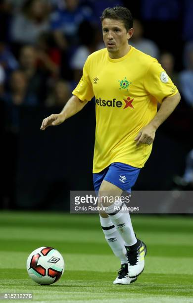 Brazil's Juninho Paulista during the play off final of the Star Sixes Tournament between Brazil and Spain at The O2 Arena London PRESS ASSOCIATION...