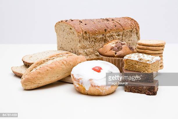 Bread and cakes