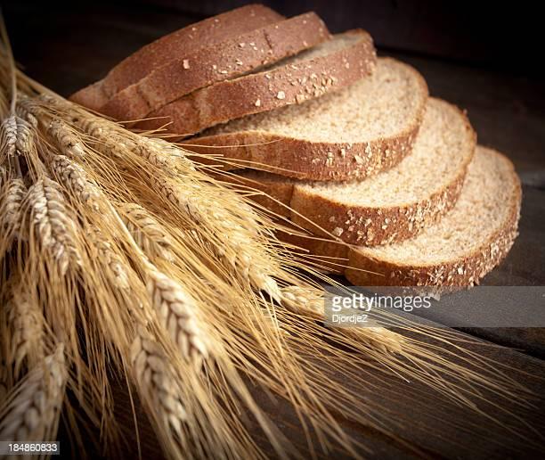 小麦パンと